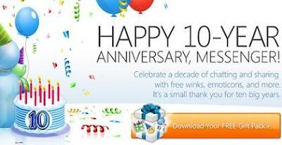 Download besplatni poklon od MSN Messenger