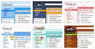 Gmail besplatne themes