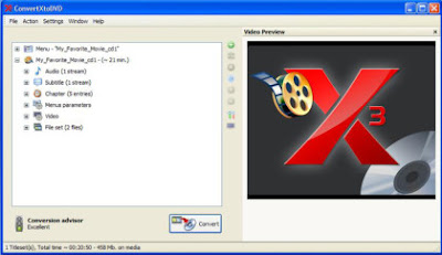 Download ConvertXToDVD besplatni Trial