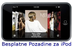 Download besplatne slike i pozadine za Apple iPod