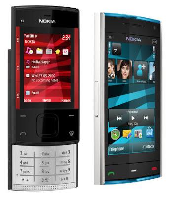 Nokia X3 i X6 mobiteli