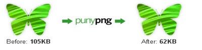 Puny PNG - besplatni online alat za optimiziranje PNG slika