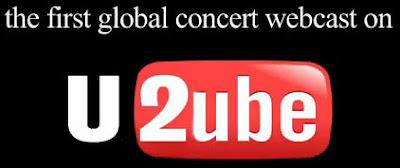Koncert U2 na YouTube