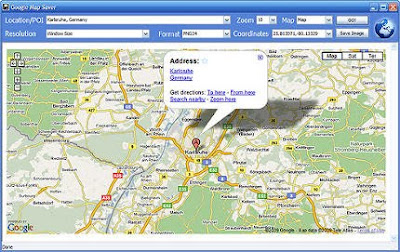Download Google Map Saver besplatni programi - skinite Google karte