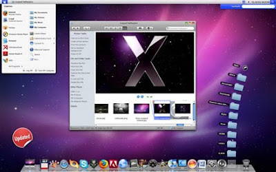 download Leopard X - besplatne themes - promjenite Windows XP u Mac OS X