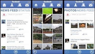 Facebook aplikacija za Zune HD