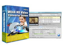 Besplatni download WinX HD Video Converter Deluxe i serijski broj