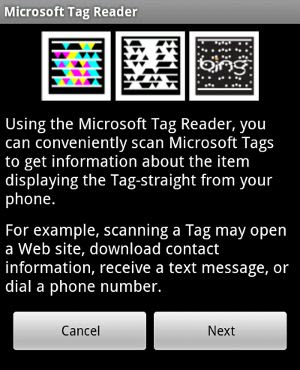 download Microsoft Tag - aplikacija za Android platforme