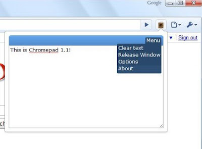 Download Chromepad - besplatni dodatak za Google Chrome
