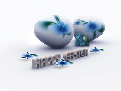 Happy Easter, e-card čestitka za Uskrs