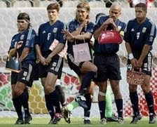 smiješne slike Argentinski nogometaši sa torbicama