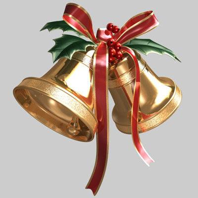 Zvončići za Božić i Novu godinu Božićne slike čestitke Christmas
