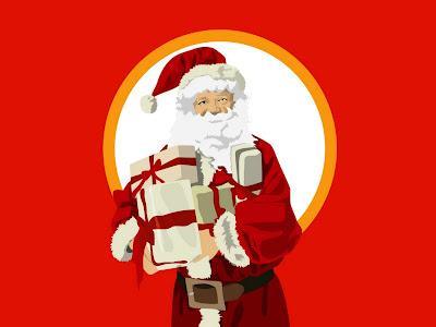Božićne slike besplatne čestitke pozadine za desktop download free e-cards Christmas Santa Claus