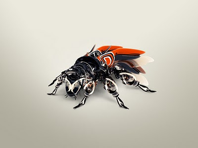 3D slike besplatne pozadine za desktop download muha