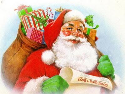 Božićne slike djed Mraz sveti Nikola download free Christmas Santa Claus
