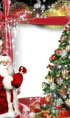 Božićne slike djed Mraz besplatne čestitke download free e-cards Christmas