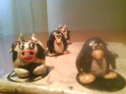 vacas y pingüinos