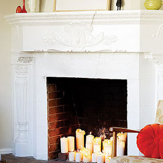 Shade of a Beech Tree Non working Fireplace inspiration