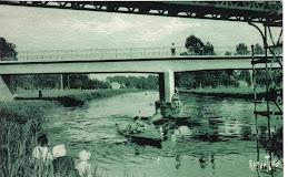 Le pont d'irleau et la passerelle