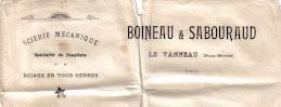 Scierie Boineau-Sabouraud