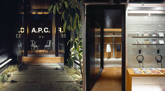Todiefordenim A Renovation Of Apc Daikanyama Homme Store