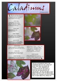 Maragaret McCosh in Artist's Palette Magazine Page_1+%28424+x+600%29
