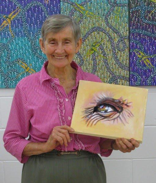 Happy Birthday Jean Haack - most senior Member Cooktown Art Jean_haack_winner_june_art_theme_eyes+%28510+x+600%29