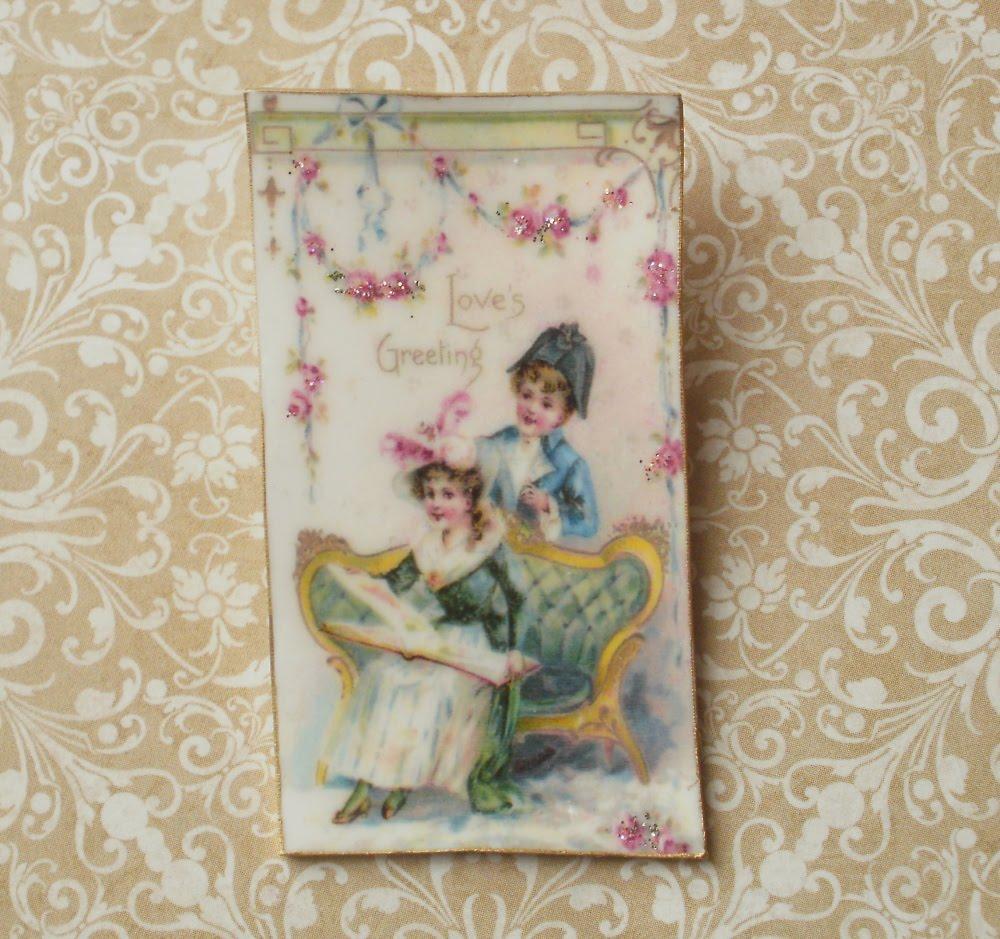 Micheles Treasures Teacups Amp Tumbling Rose Cottage