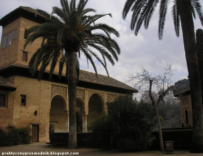Alhambra w Grenadzie w Hiszpanii