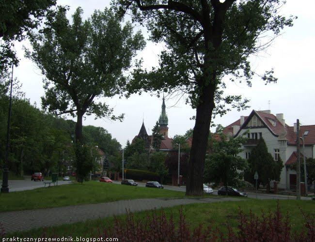 Ulica Parkowa i Plac Lasoty Kraków