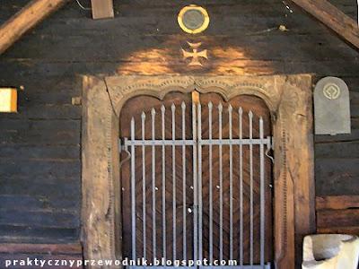 Szlak Architektury Drewnianej Kościół w Sękowej