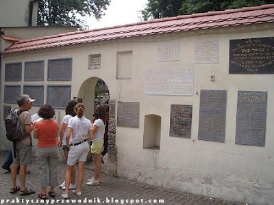 Cmentarz żydowski Remu Kraków Kazimierz