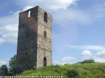 Wieża w Stołpiu koło Chełma
