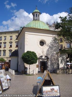 Kościół Świętego Wojciecha Rynek Główny w Krakowie