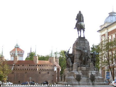 Stare Miasto Kraków Plac Jana Matejki w Krakowie