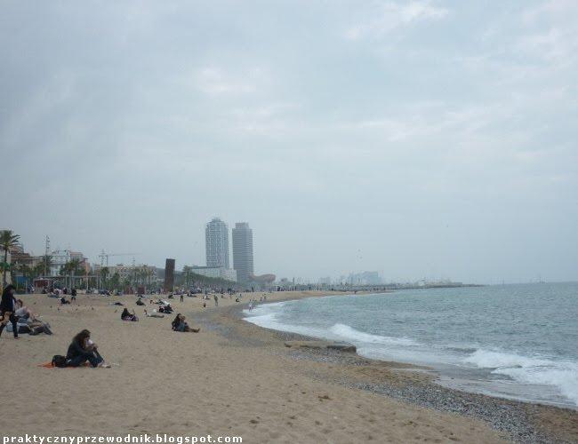 La Rambla Barcelona dzielnica nadmorska w Barcelonie