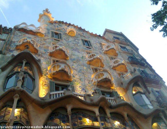Casa Batllo Barcelona Hiszpania