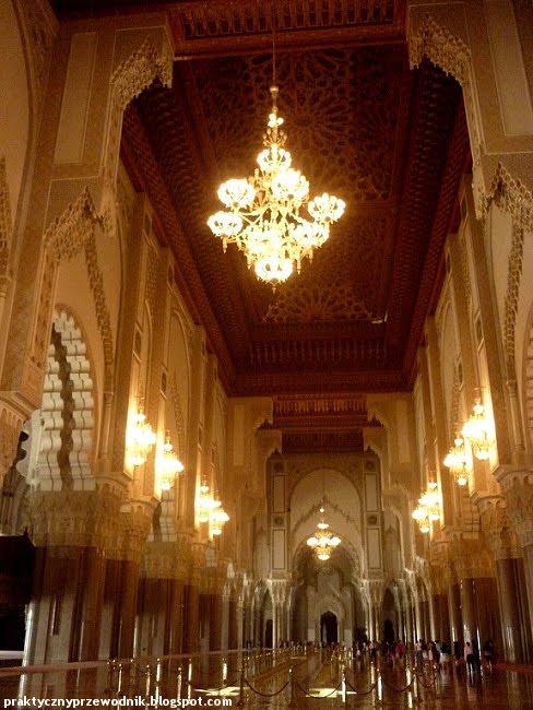 Casablanca Meczet Hassana II