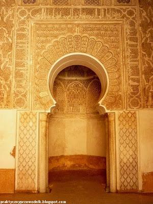 dawna szkoła Koranu w Marrakeszu