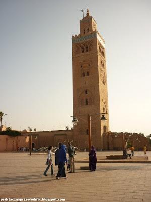 Marrakesz Maroco Meczet Koutoubia