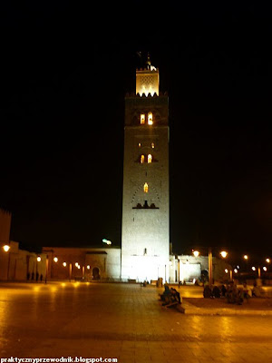 Marrakesz Meczet Koutoubia