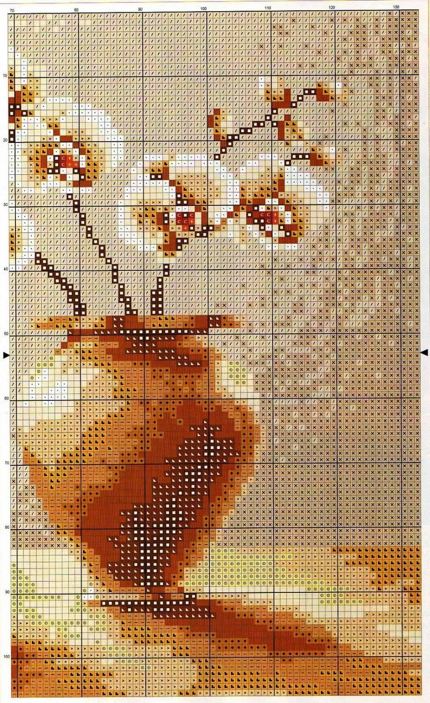 Схема вышивки крестом «Натюрморт