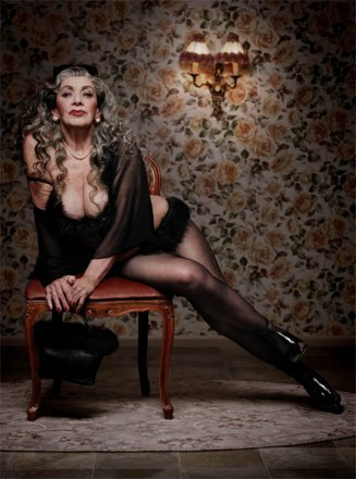 Mature Anne Nicole S  Photograph Of The Mature Series Celebrating Senior Beauty By Dutch Photographer Erwin Olaf
