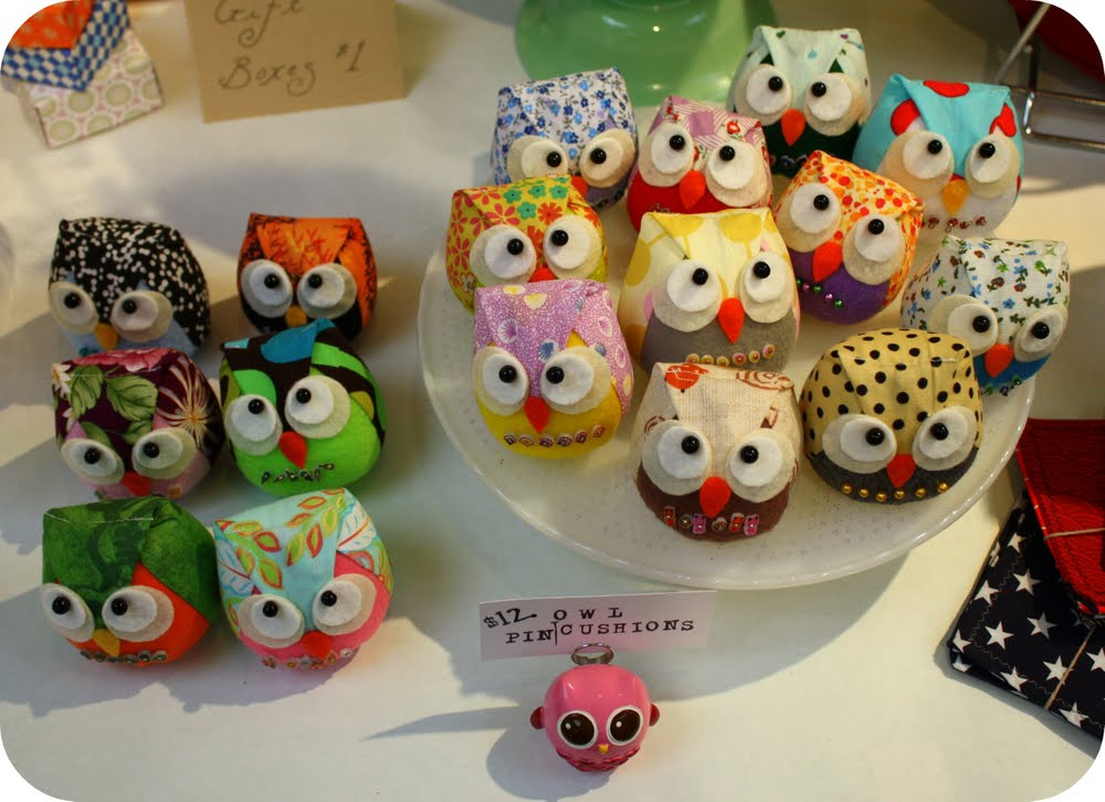 Oh the cuteness craft fair recap for Ohio holiday craft shows