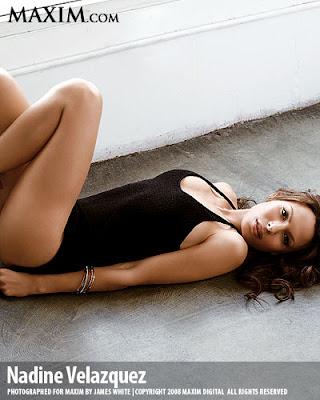 Nadine Velazquez Yoga Pants Hollywood Babes...
