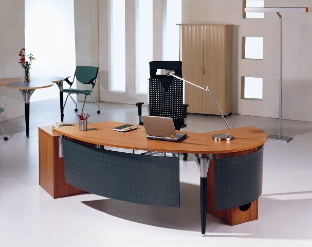 Office furniture blogs latest office table design for Table design for office