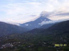 vulcão tunguhaua