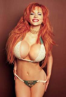 Sabrina Sabrok in hot white bikini image