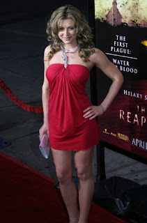 Cerina Vincent hot photo at reaping premiere