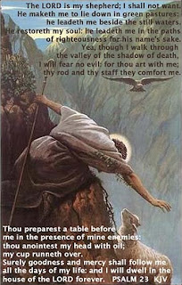 Jesus saving a falling Shepard from hill at eagle sexy pic